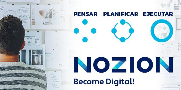 NOZION Become Digital – Consultoría estratégica de creación de negocios en internet