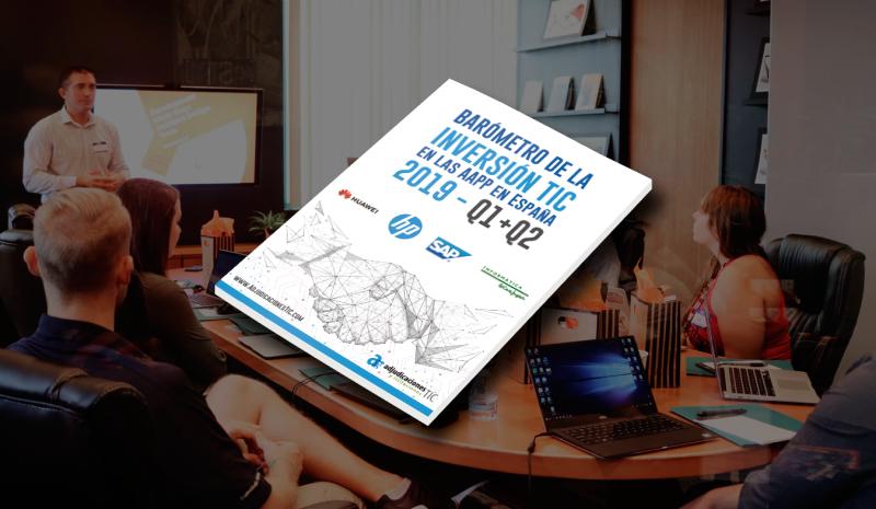 Descubre cómo está la inversión en tecnología en España (Barómetro TIC 2019)
