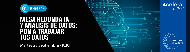 Mesa redonda IA y Análisis de Datos: pon a trabajar tus datos